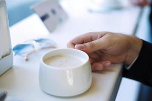kop koffie foto