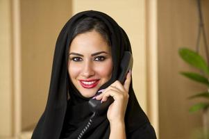 Arabische klantenservice foto