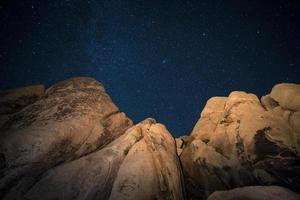 woestijn sterren foto