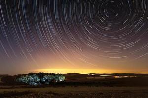 sterren trektocht foto