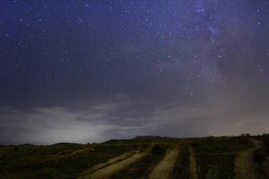 rustige sterrennacht foto