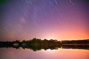 sterren blootstelling .. Turkije foto