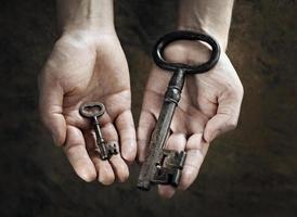 kies uw sleutel foto