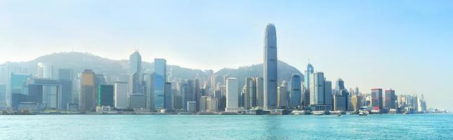 modern hong kong foto