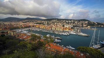 stad van mooie haven foto