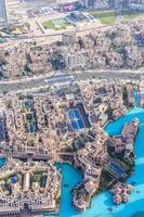 het centrum van Dubai foto