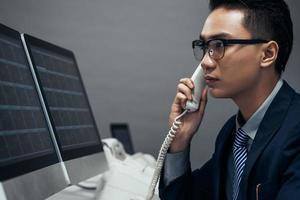 Vietnamese aandelenhandelaar foto