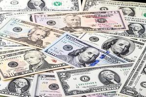 presidenten op dollar foto
