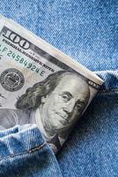dollarbiljetten foto