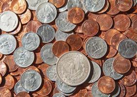 Amerikaanse munten foto