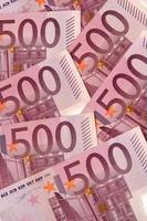 vijfhonderd euro foto