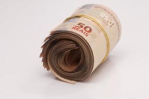 Braziliaanse valuta (echt) foto