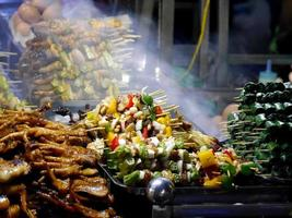 voedselmarkt Vietnam foto