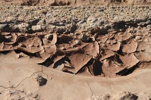 woestijn modder foto