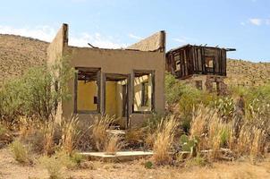 woestijn huis