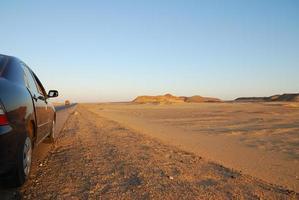 woestijn rijden