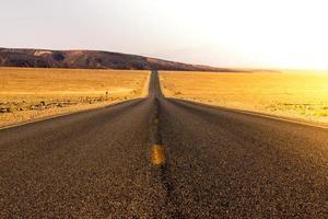 woestijn weg
