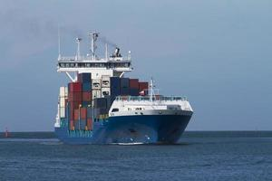 container vrachtschip foto