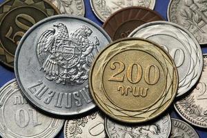 munten van Armenië foto