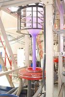 productie van polyethyleen foto
