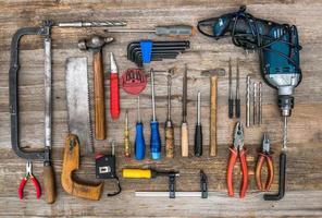 bouwinstrumenten foto