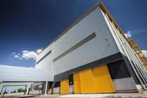 moderne metallurgische fabriek foto