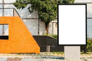 straat billboard foto