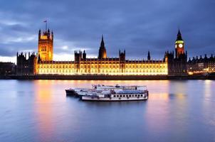 het paleis van Westminster foto