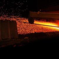 metallurgische productie foto