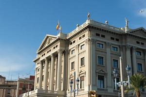militair regeringsgebouw barcelona foto