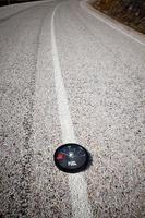 brandstofmeter foto