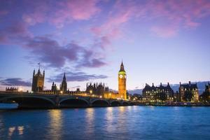 het paleis van de westminster big ben, londen, engeland, uk foto