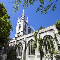 de overblijfselen van st. dunstan-in-the-east kerk in Londen foto