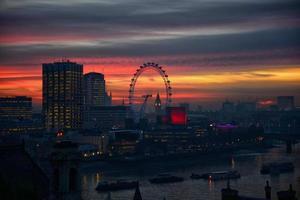 Londen in de schemering