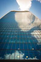 wolkenkrabbers in de stad Londen. foto