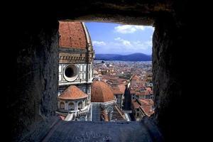 Florence uitzicht vanaf de toren van Giotto foto