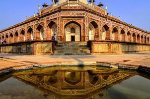 het graf van Humayun in Delhi foto