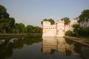 moskee in Delhi, India foto