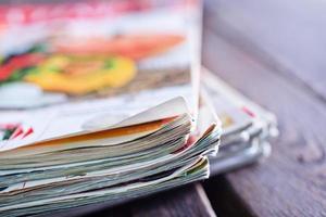 stapel tijdschriften foto
