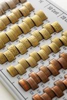 munten van de europese unie foto