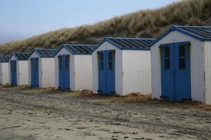 strandhuizen texel foto