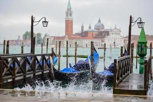 ruwe zee in Venetië