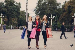 mode winkelstraat foto