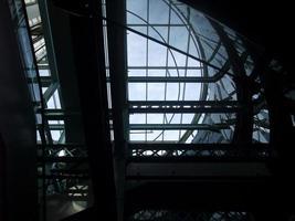 abstracte industriële architectuur