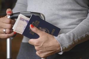 Argentijns paspoort foto