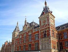 amsterdam - centraal station foto