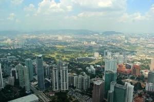 stadsgezicht iii - Kuala Lumpur, Maleisië foto