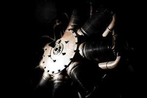 donker machinaal metaal
