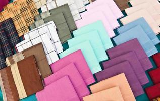kleurrijk van zakdoek foto