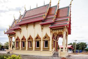 nieuwe tempel in Thailand foto